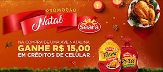 """Promoção """"Natal Seara"""" blog topdapromocao.com.br topdapromocao.blogspot.com.br facebook instagram 2017"""