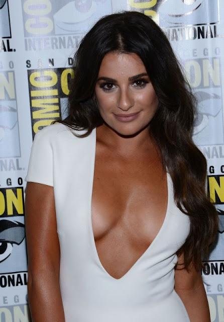 Lea Michele – 'Scream Queens' Press line at Comic-Con in San Diego
