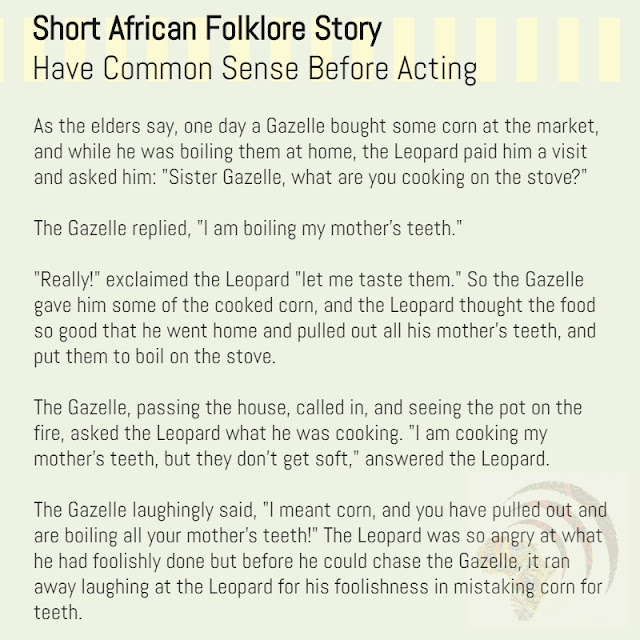Short African Folklore Story