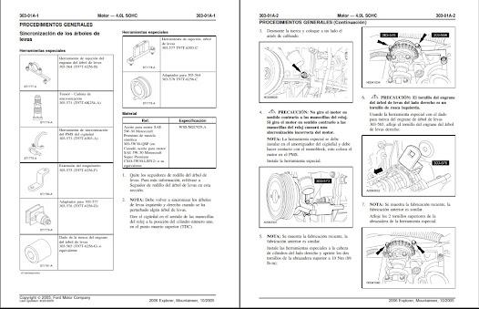 Manual De Taller Ford Explorer Eddie Bauer 2006-2010