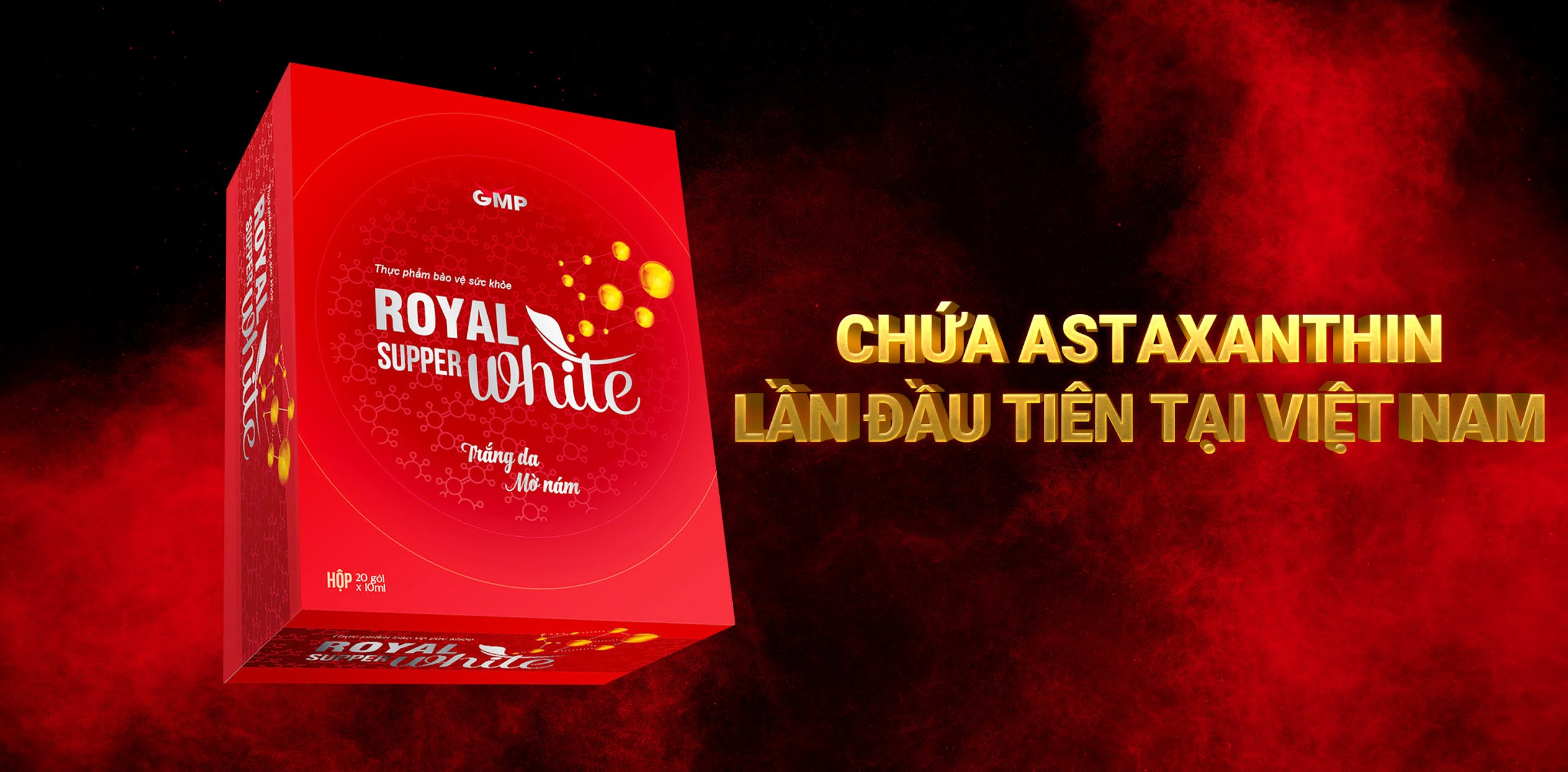 dịch uống trắng da royal super white