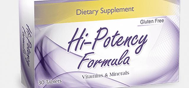 سعر ودواعى استعمال دواء هاى بوتنسى فورميولا Hi Potency Formula مكمل غذائى