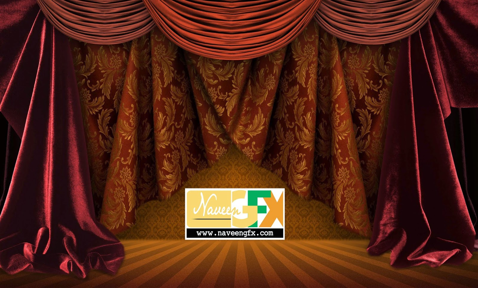 curtains  u0026 ribbons psd templates