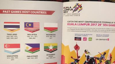 gambar bendera indonesia terbalik di sea games malaysia