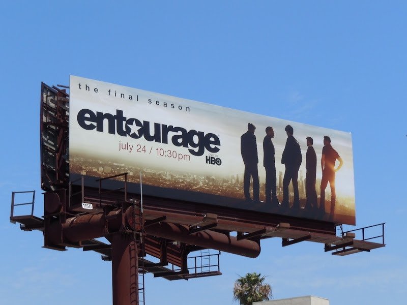 Entourage 8 TV billboard