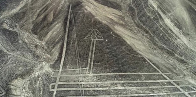 Ancient Nazca people etched many symbols in to the landscapes and mountains in Peru but why.