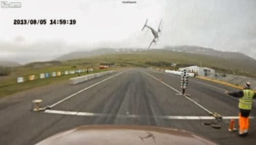 Kecelakaan pesawat Islandia