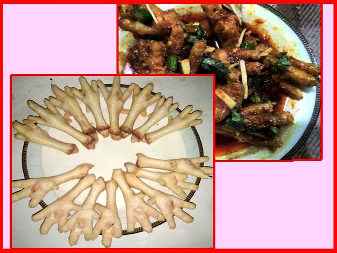 Chicken Feet Easy Cleaning And Cooking Recipe