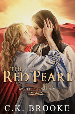 The Red Pearl by C.K. Brooke book cover