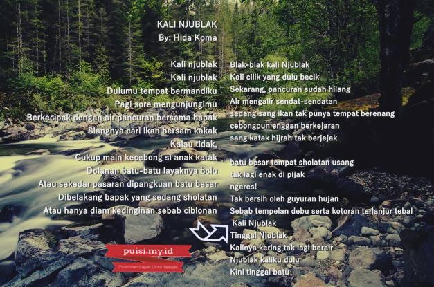 Gambar Puisi Tentang Alam dan Lingkungan Hidup