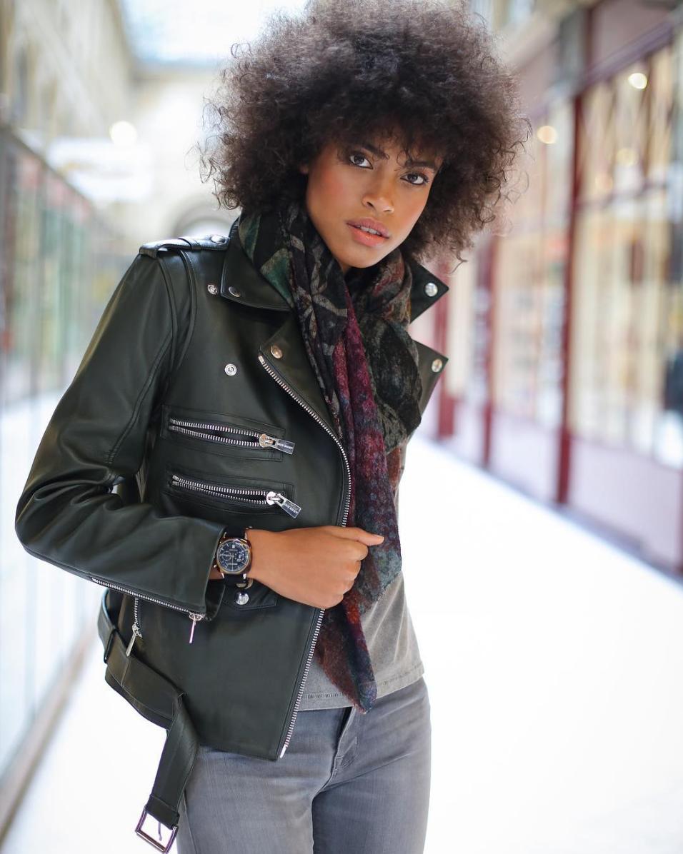 Leather jacket Stella maxwell