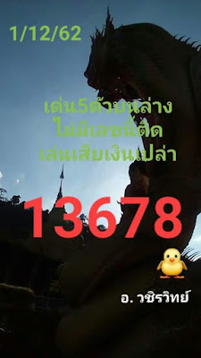 Thai Lottery Tips my4Website.Blogspot Except .com Facebook 01 December 2019
