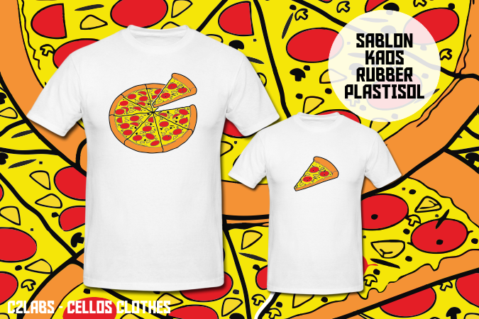Sablon Kaos Rubber Plastisol Design Custom for Your Brand