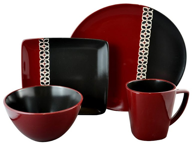 Red Dinnerware 5