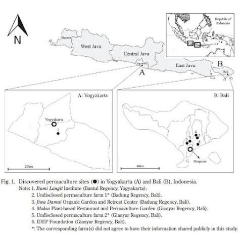dataran pedalaman dan pegunungan), dan 23oC (dataran tinggi) (Putro & Miyaura, 2020)