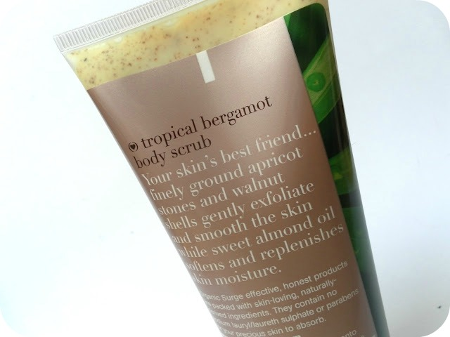 A picture of Organic Surge Tropical Bergamot Body Scrub