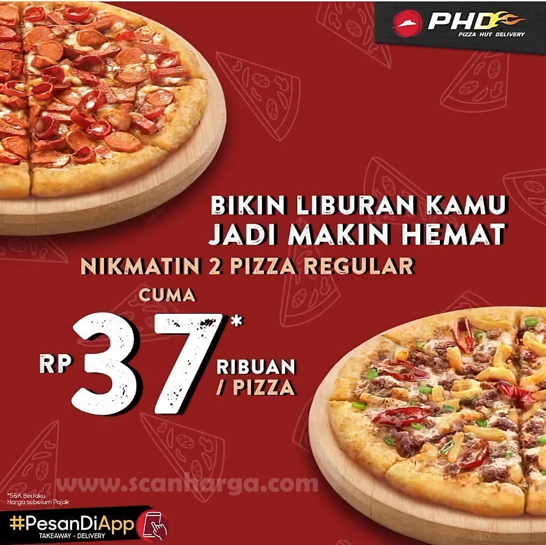 Promo PHD Harga Spesial Pizza Reguler Cuma Rp 37Ribuan