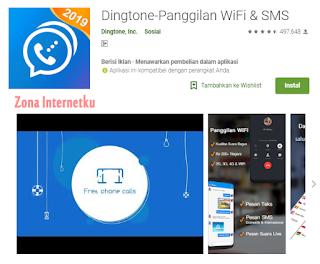 Dingtone-Panggilan WiFi & SMS