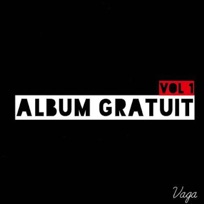 """Cover de l'album """"Album gratuit vol.1"""" de Vaga"""