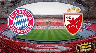 Бавария - Црвена Звезда  смотреть онлайн бесплатно 18 сентября 2019 прямая трансляция в 22:00 МСК.