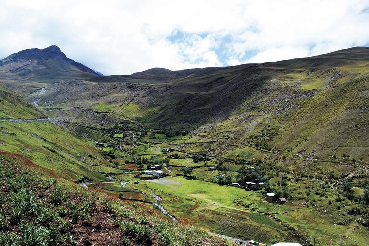 Campamento ubicado entre Sorata y el nevado Illampu / ARCHIVO LA RAZÓN