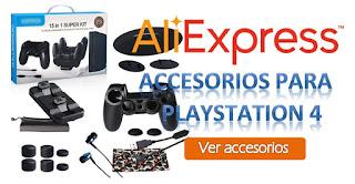 accesorios ps4 aliexpress
