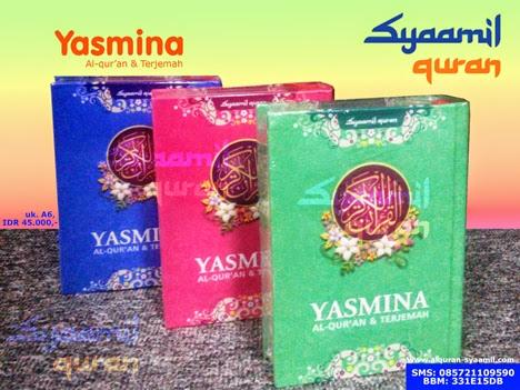 Alquran Syaamil Yasmina Alquran Terjemah A6