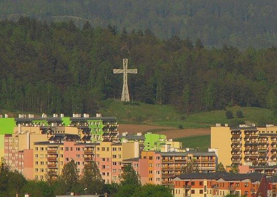 Krzyż milenijny na Zabobrzu.