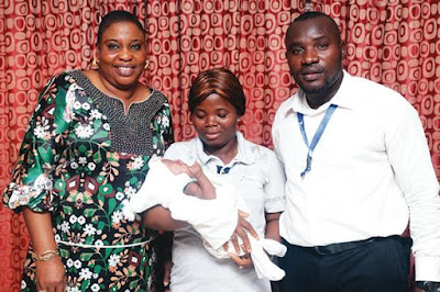Baby Detained By Lagos Hospital Over Money Released, Ambode's Wife Pays Bill