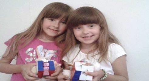 Djevojcice koje su uspjele rijesit Rubikovu kocku u kratkom roku!