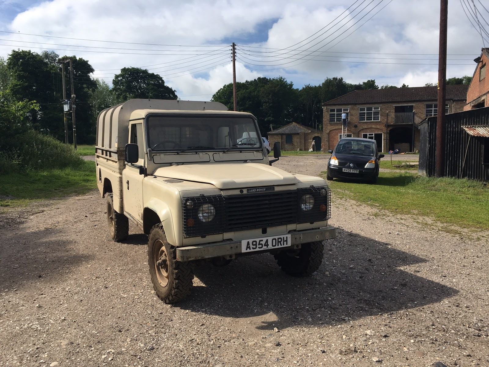photo the pink vehicle a patrol army of british desert stock panther landrover land sale rover for