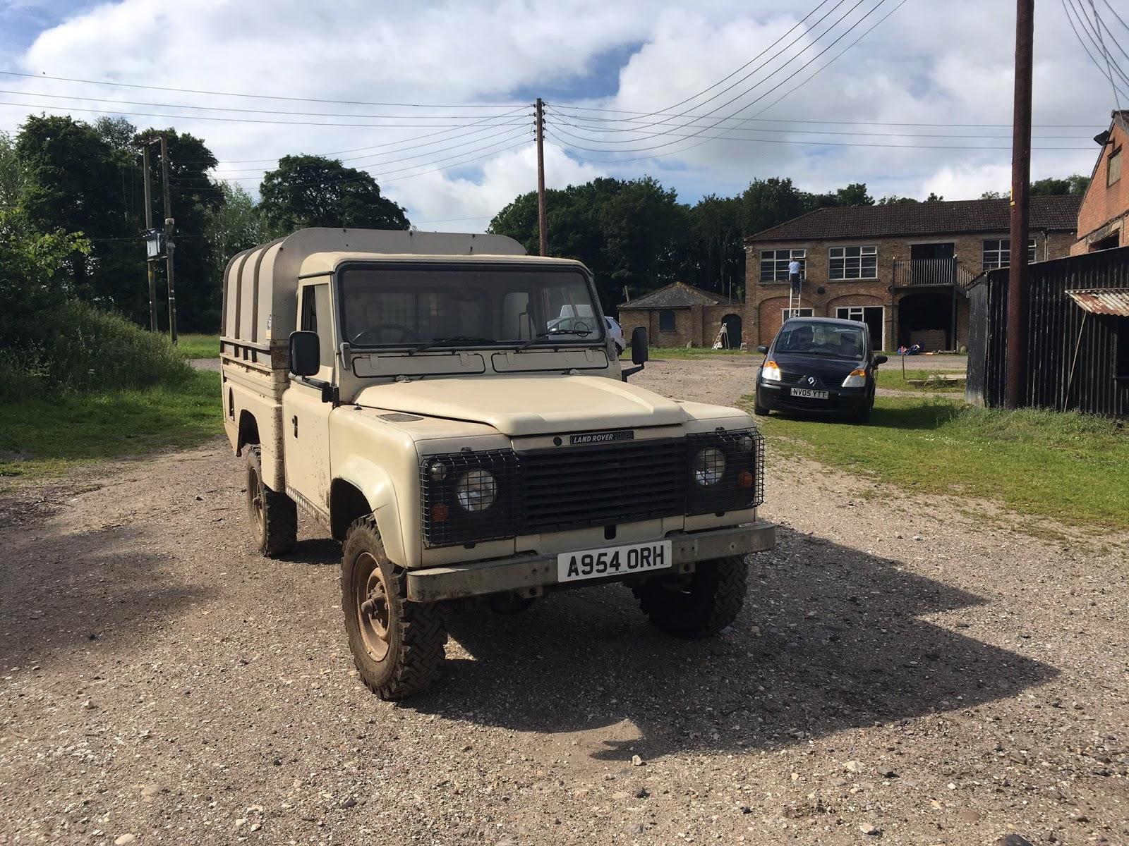 Landrover Defender For Sale Cream Land Rover Defender 110 LWB
