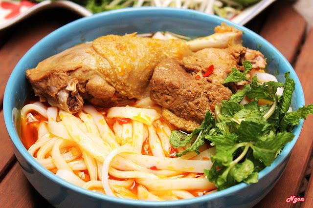 Cách nấu mì quảng vị Phan Thiết cực ngon
