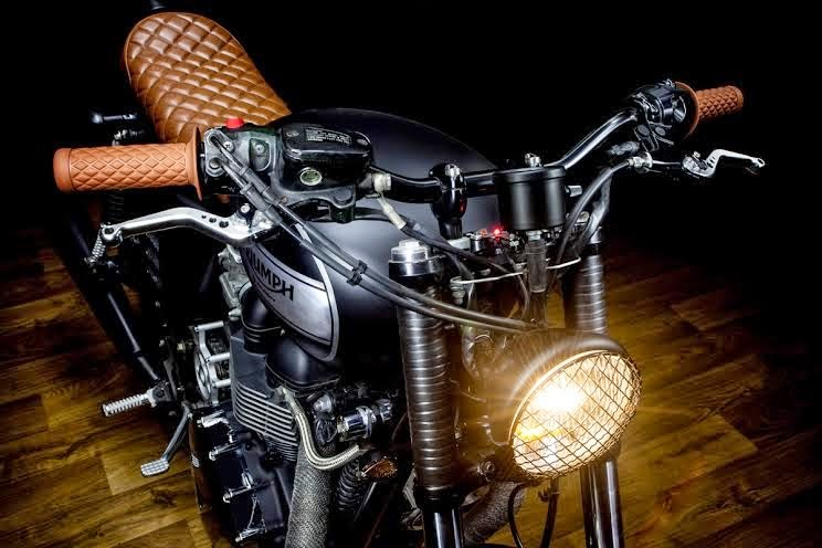 2009 Triumph Bonneville Efi The Lizard King By Macco Motors