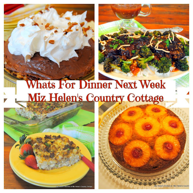 Whats For Dinner Next Week, 1-3-21 at Miz Helen's Country Cottage