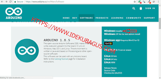 Cara mudah install Arduino IDE 1.8.5 WINDOWS