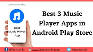Best 3 Music Player Apps in Android Play Store