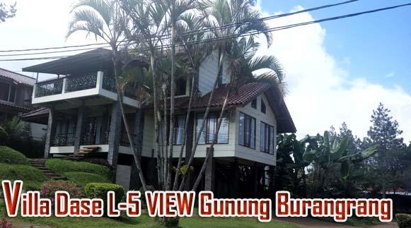 Villa Dase L-5 Istana Bunga Untuk 30 Orang Pemandangan Gunung