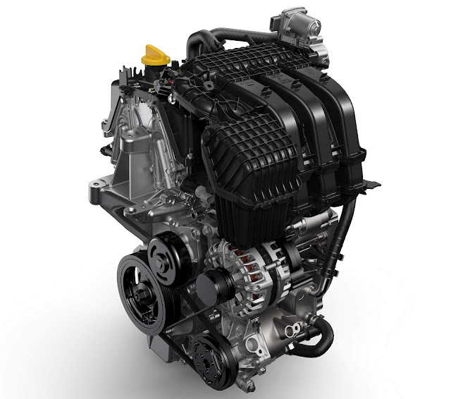 Novo Renault Logan 2017 - motor