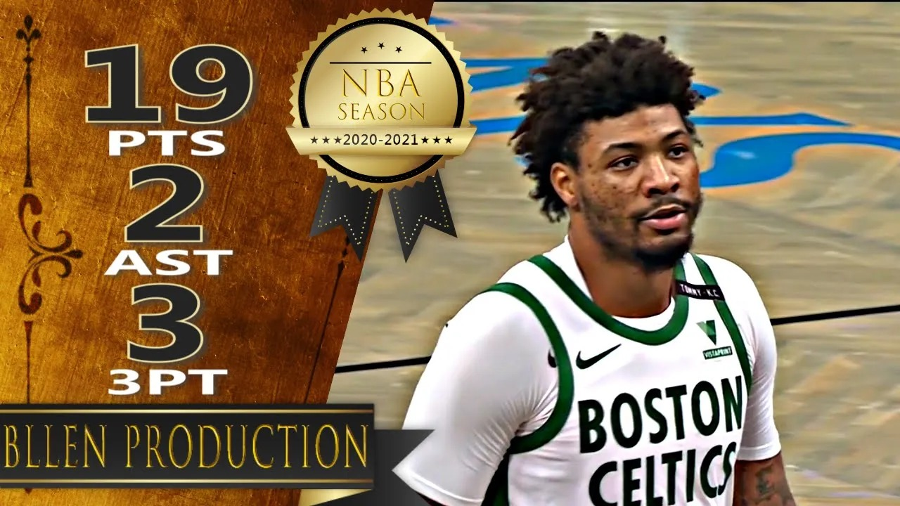 Marcus Smart 19pts vs BRK   March 11, 2021   2020-21 NBA Season