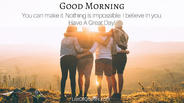 Beautiful Good Morning Messages Quotes For Friends with Pictures(HD Quality Free Download)