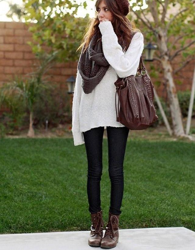 10 inspirações pra você se vestir bem agasalhada (e estilosa!) sem parecer um pinguim