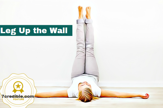 Image of Legs-Up-The-Wall Yoga Pose How Accurately perform