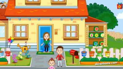 تحميل ماي تاون منزل الاسرة My Town Home APK احدث اصدار للاندرويد