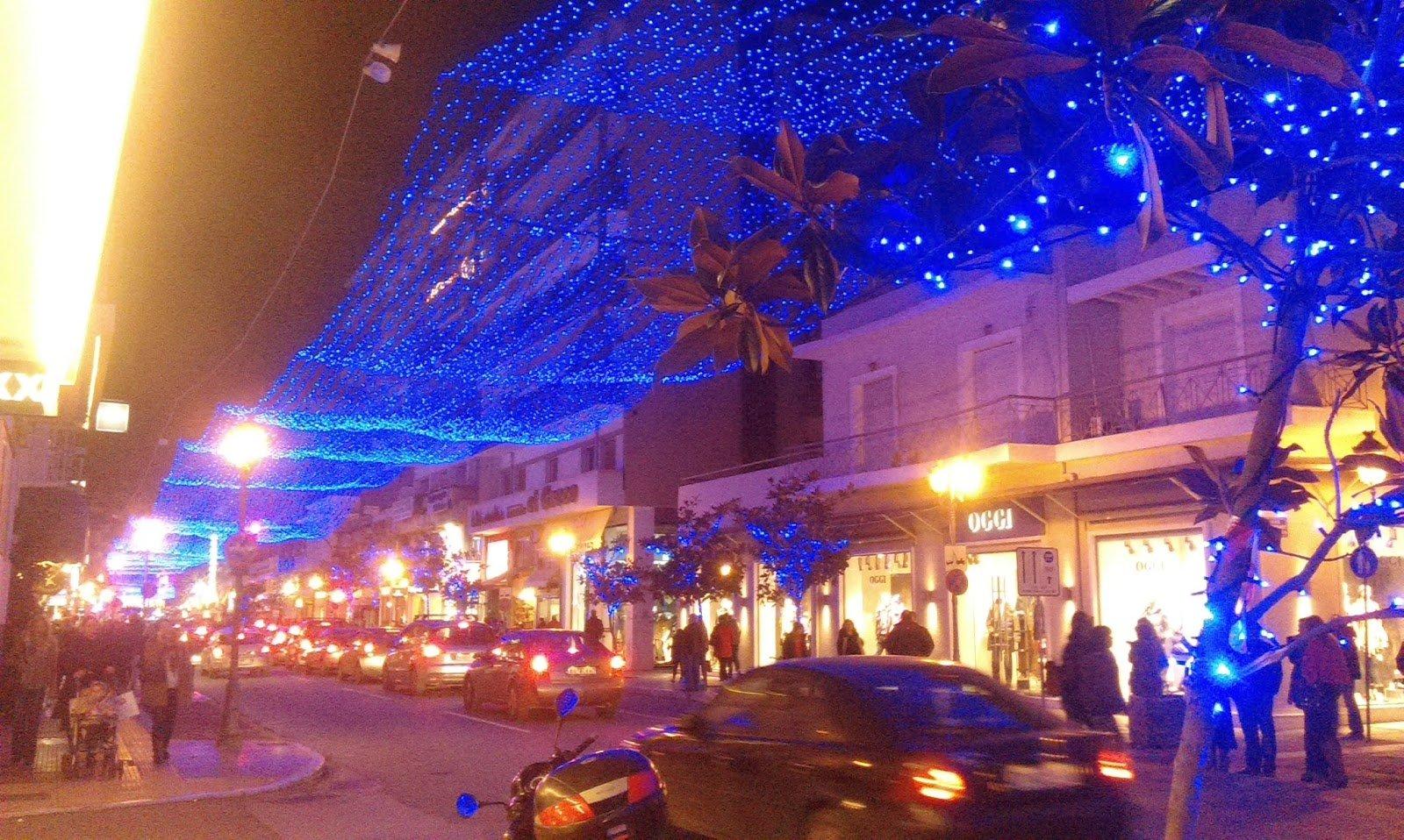 Χριστουγεννιάτικοι στολισμοί στις Ελληνικές πόλεις