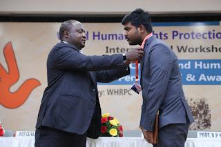 P. Prasant recieves Honorary Doctorate Odisha के पी. प्रशांत मानद डॉक्टरेट से सम्मानित media kesari मीडिया केसरी