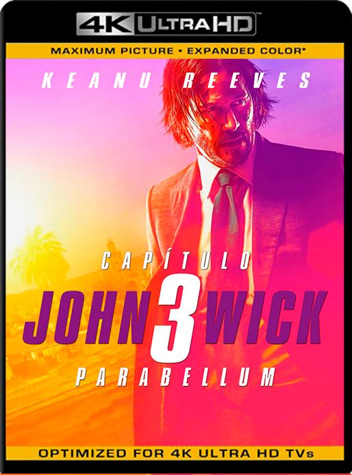 John Wick 3: Parabellum (2019) 4K 2160p UHD [HDR] Latino [GoogleDrive] [Cespa92]
