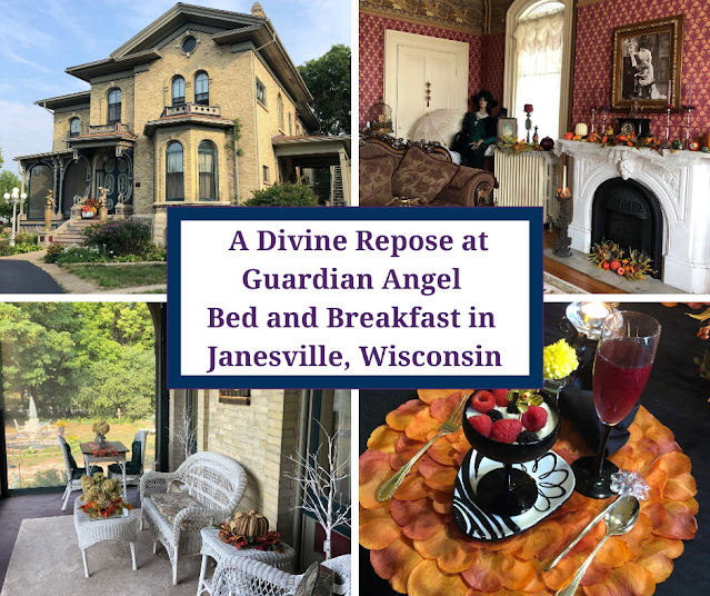 Victorian Charm and A Divine Repose at Guardian Angel Bed and Breakfast in Janesville, Wisconsin