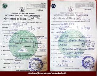 Govt centres where 'fake' babies get original birth certs for N1,000