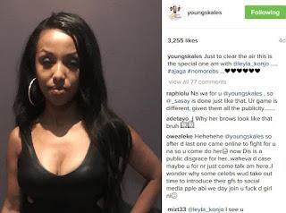 Skales has been dumped by his Ethopian girlfriend on Instagram